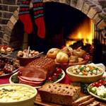 новогодний стол - правильное питание